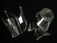 Glass Broken Shard Pointed Broken Glass Sharp Cut