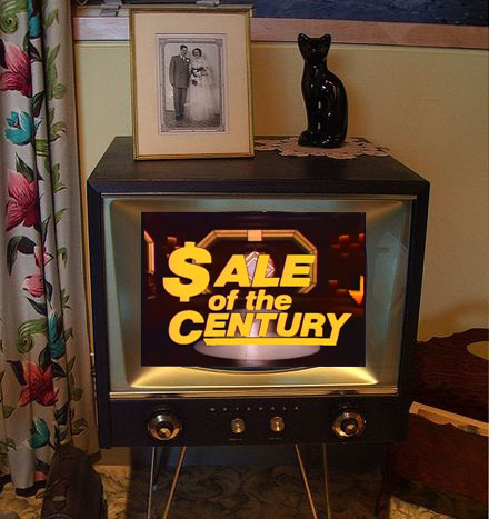 sale of the century on old television
