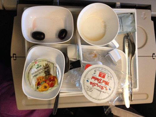 Airline breakfast beauty