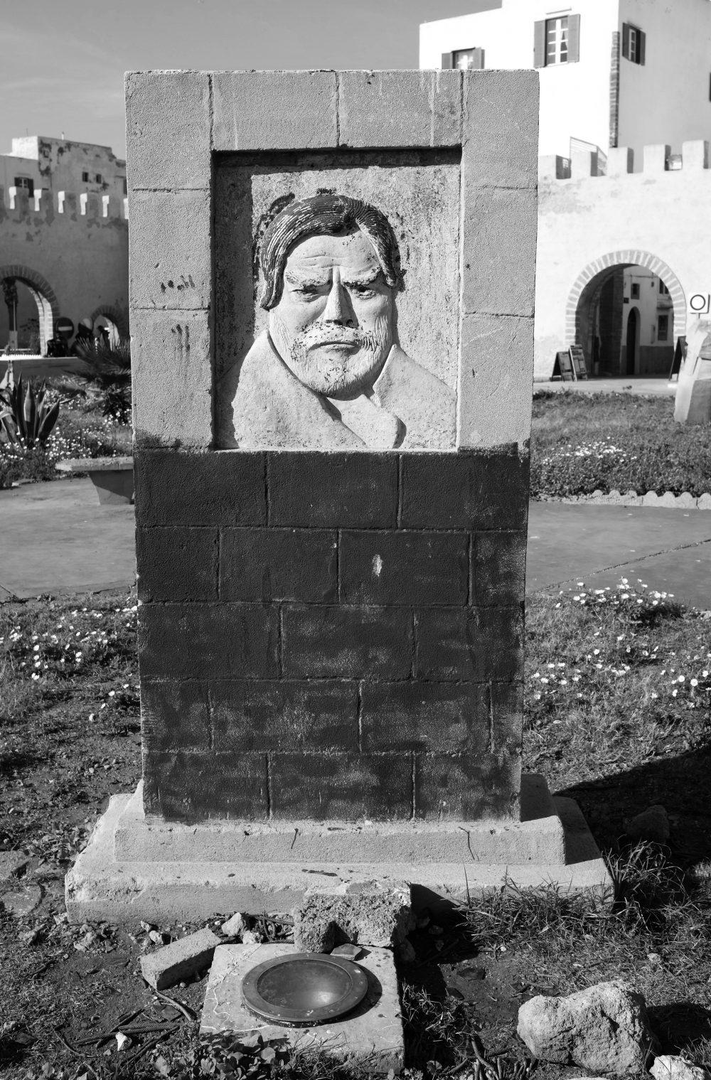 Orson Welles statue