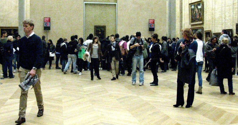 Mona Lisa, Louvre Museum, Paris