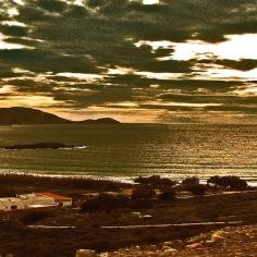 burnished sea