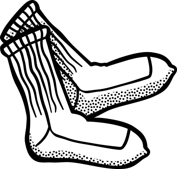 socks-white