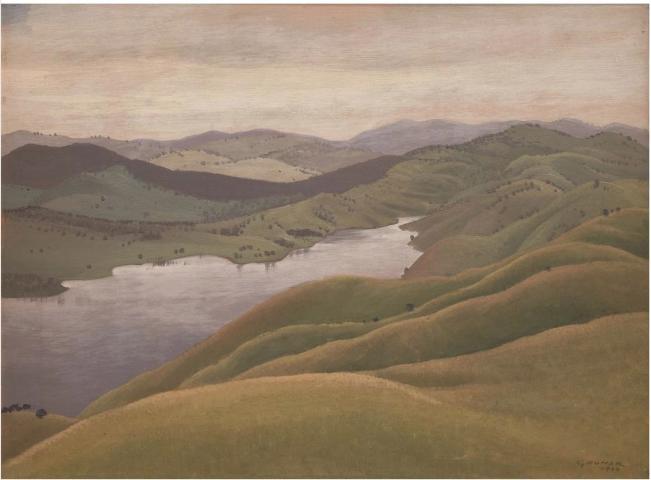 Gruner-landscape 1929