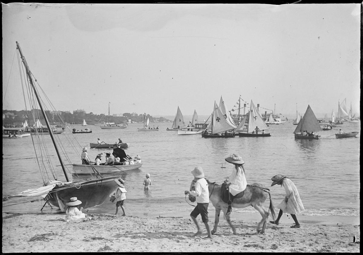 manly beach c.1890 (1)
